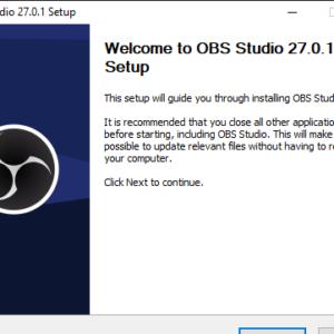 OBS Studio 27.0.1 Setup 26_6_2021 10_48_21